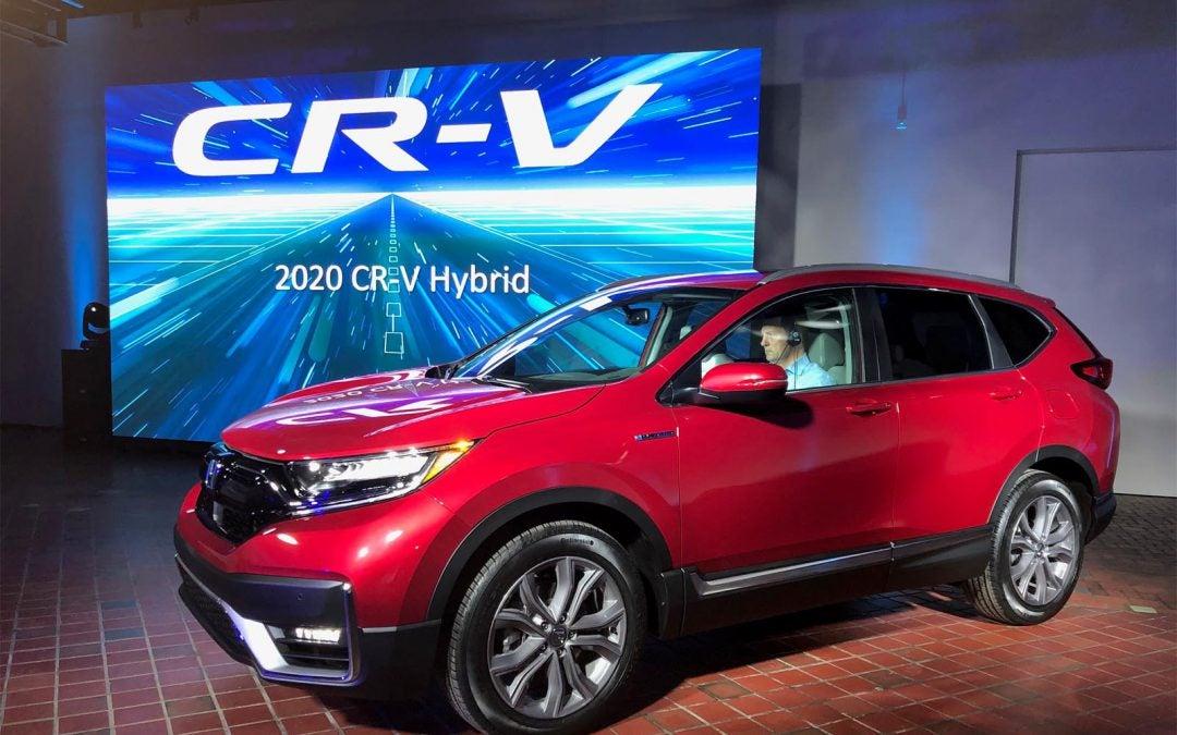 First Look: 2020 Honda CR-V Hybrid