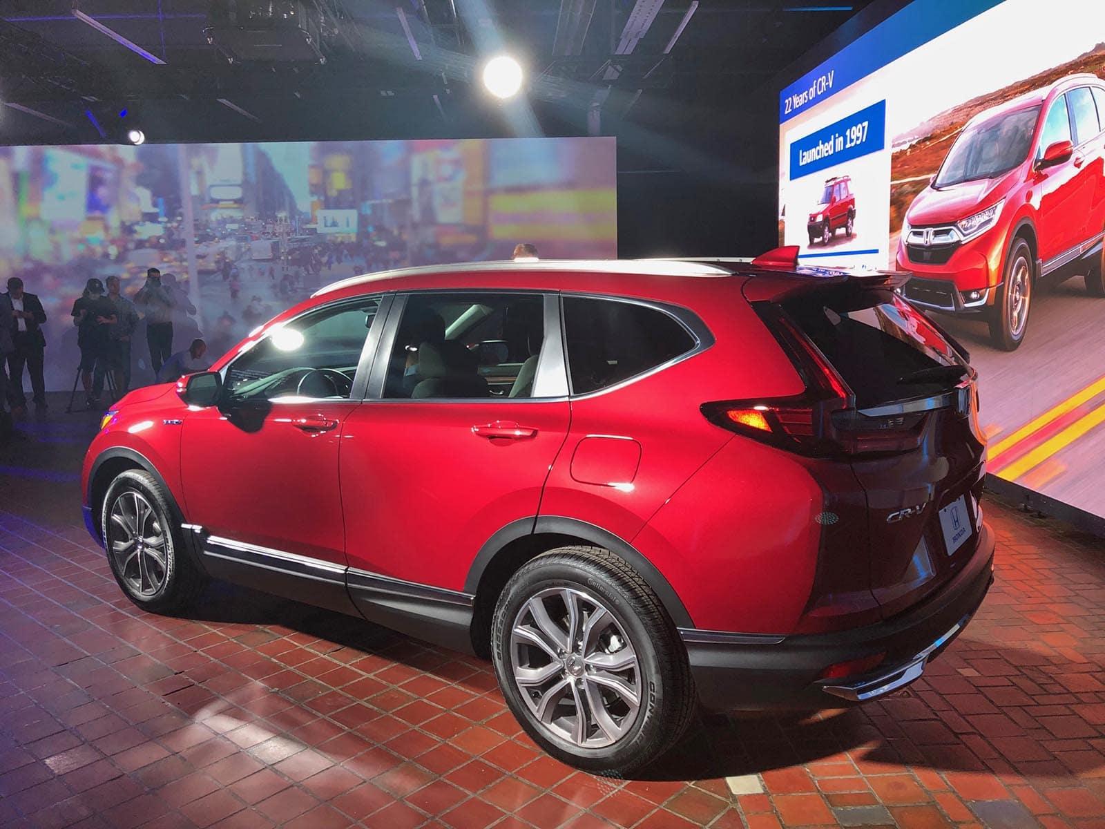 First Look: 2020 Honda CR-V Hybrid | The Detroit Bureau
