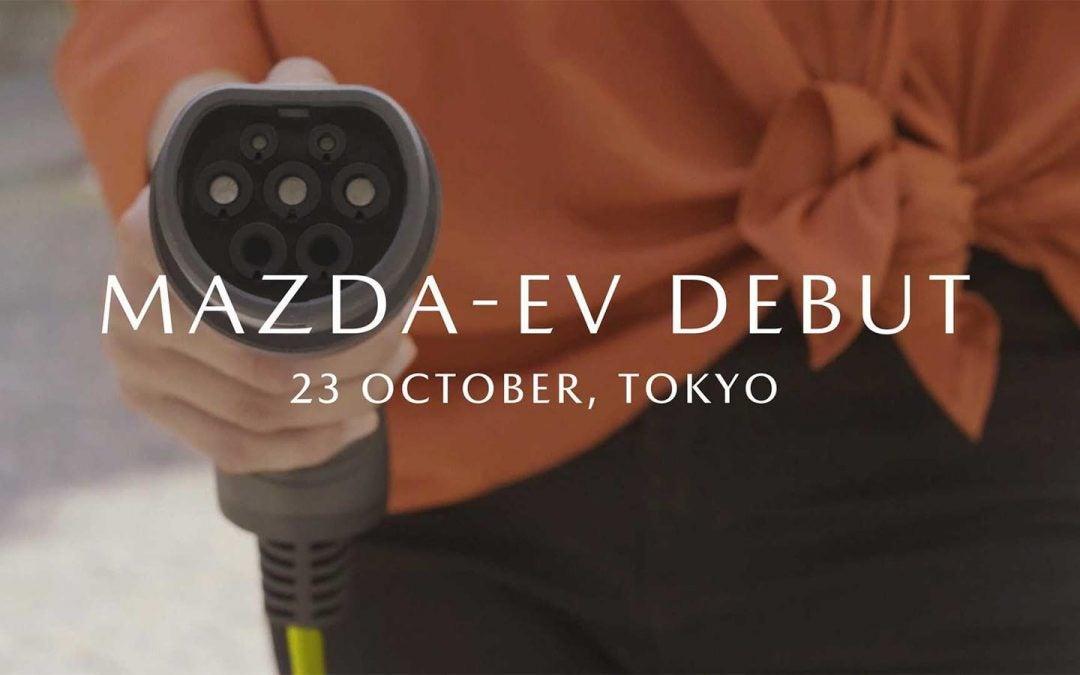 Mazda Debuting First EV in Tokyo