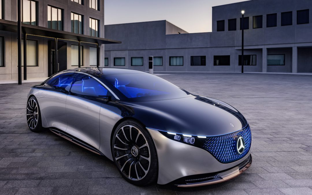 Mercedes-Benz EQS Offers a Strong Hint of What All-Electric S-Class Might Look Like