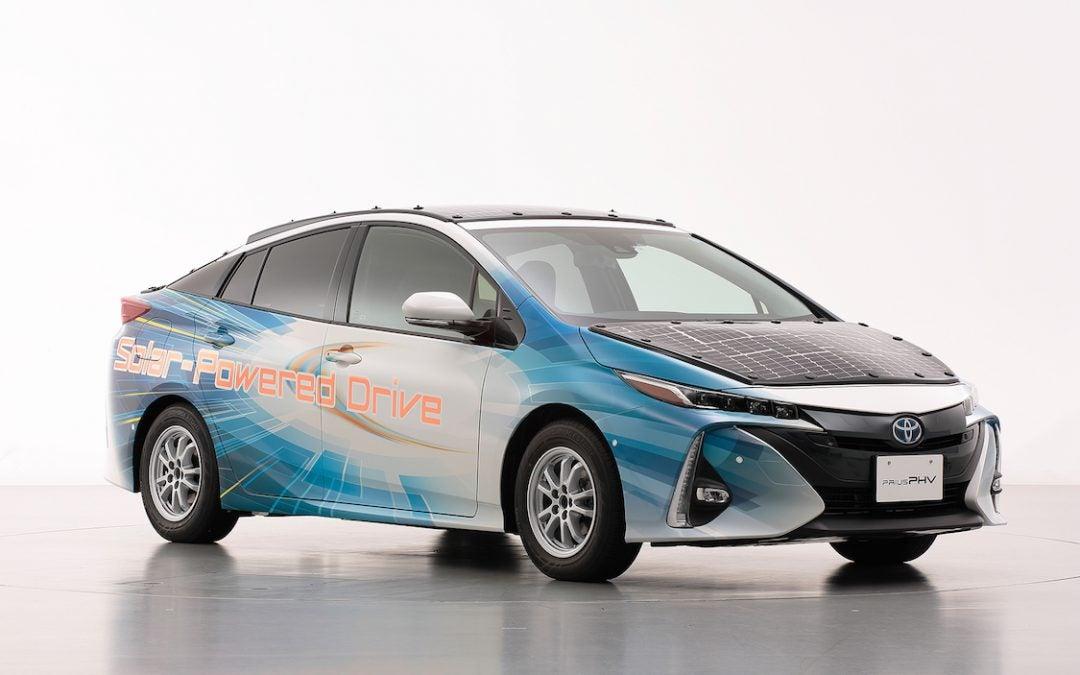 Toyota Testing Solar-Powered Electric Prius