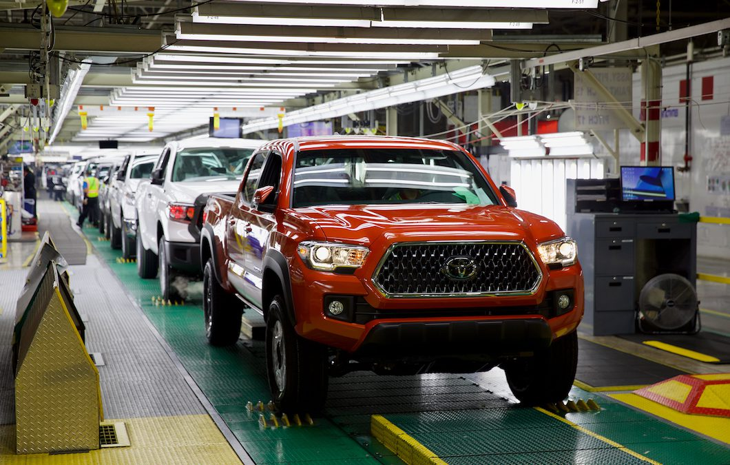 Toyota Cutting NA Production by a Third Through October