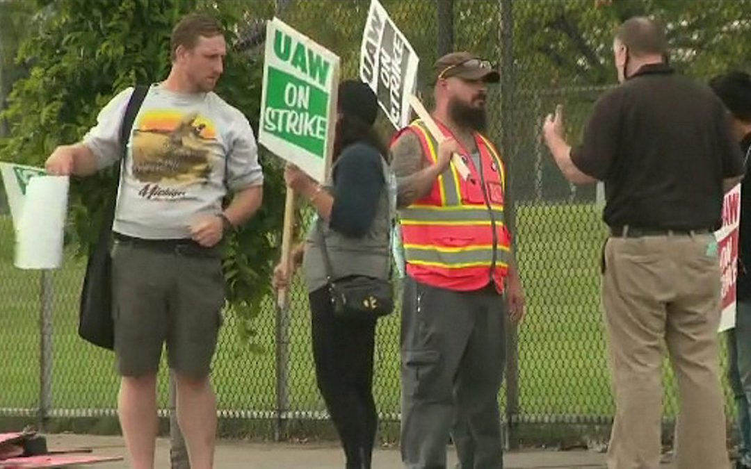 UAW Strike Begins at General Motors Plants