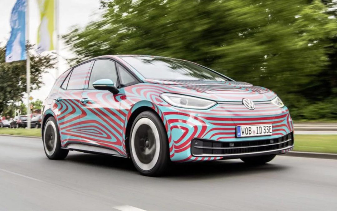 """VW to Debut Production ID.3 – with New Logo and """"Sound Logo"""" – in Frankfurt"""