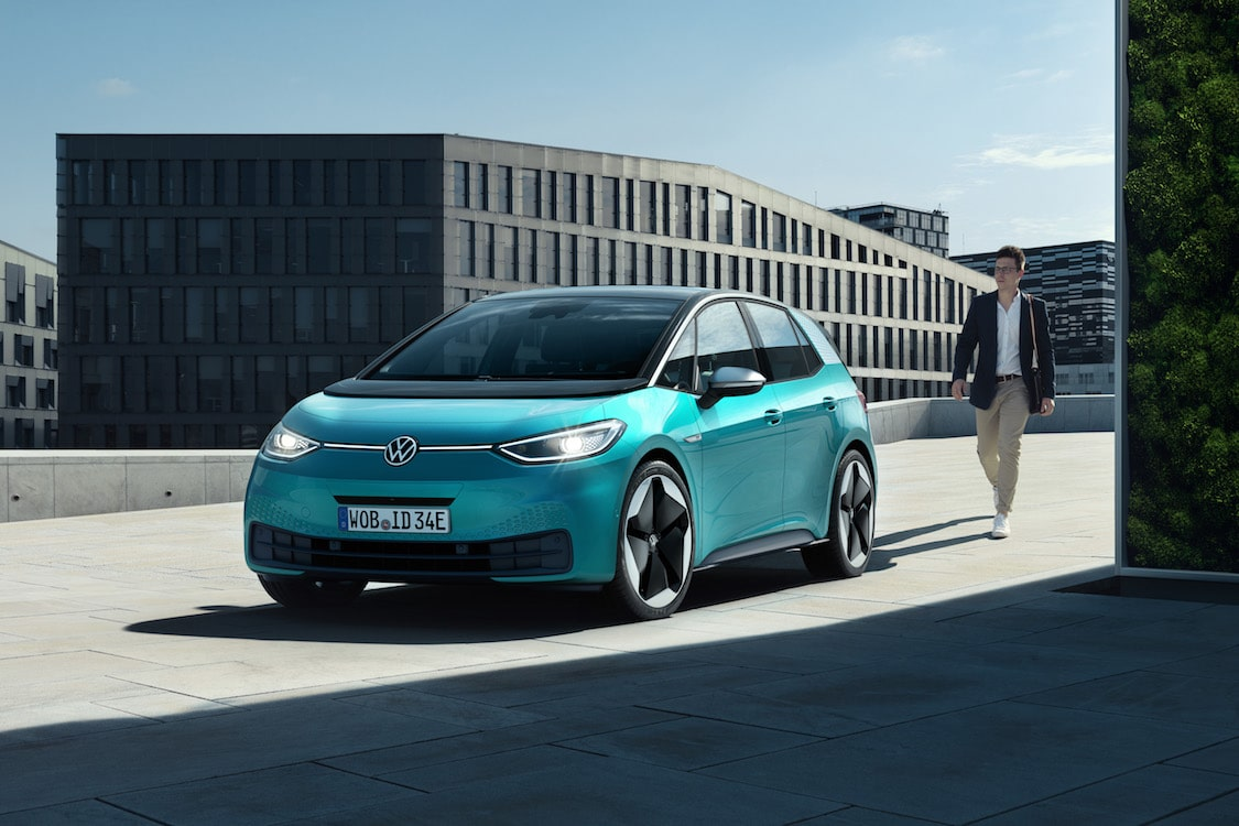 VW Charges Into Frankfurt With Production Version Of ID.3