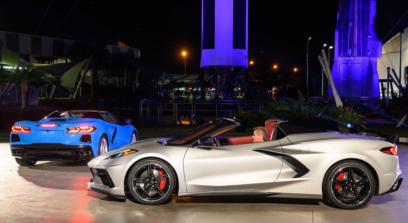 Chevy Reveals Trick Folding Hardtop Corvette And Next Gen