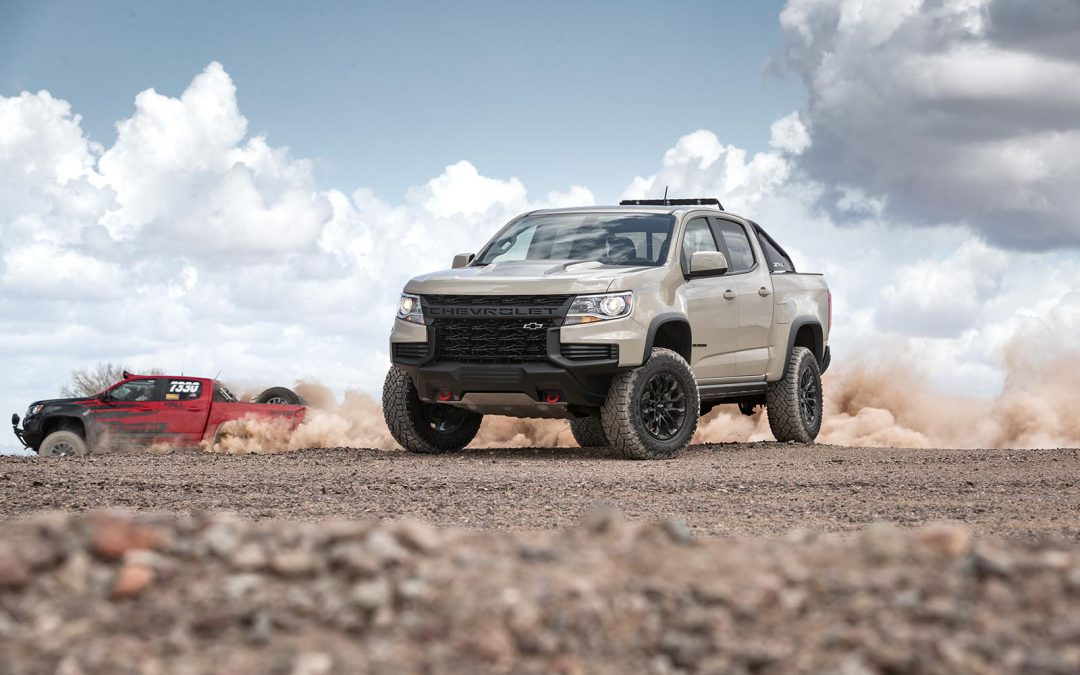 First Look: 2021 Chevrolet Colorado