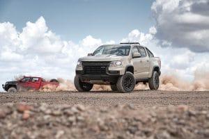 2021 Chevrolet Colorado ZR2 front