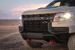 2021 Chevrolet Colorado ZR2 grille
