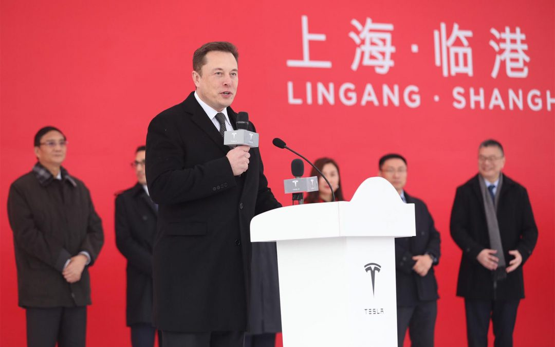 CEO Musk Says Tesla to Build New Gigafactory Near Berlin