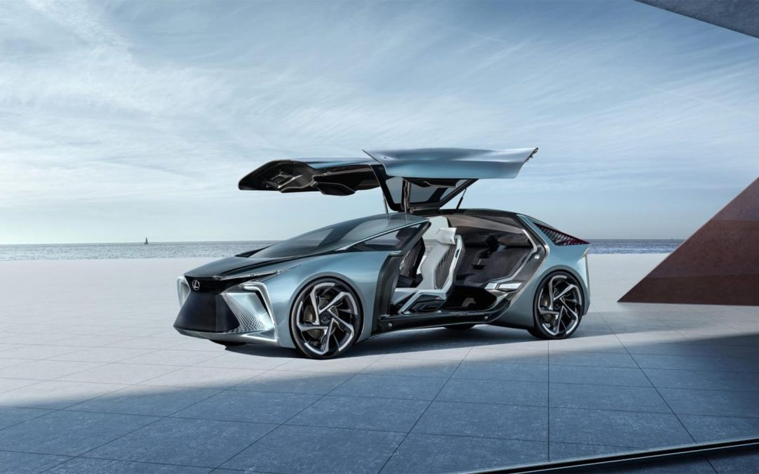 "Lexus LF-30 Concept ""Foreshadows"" an Electric Future"