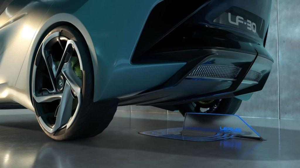 Lexus LF30 Concept charger dock