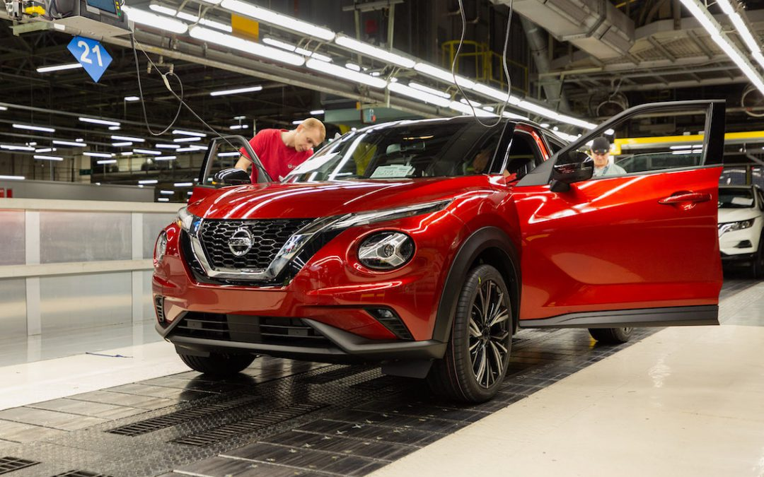 Nissan Kicks Off Production of New Juke in Britain Despite Brexit Looming
