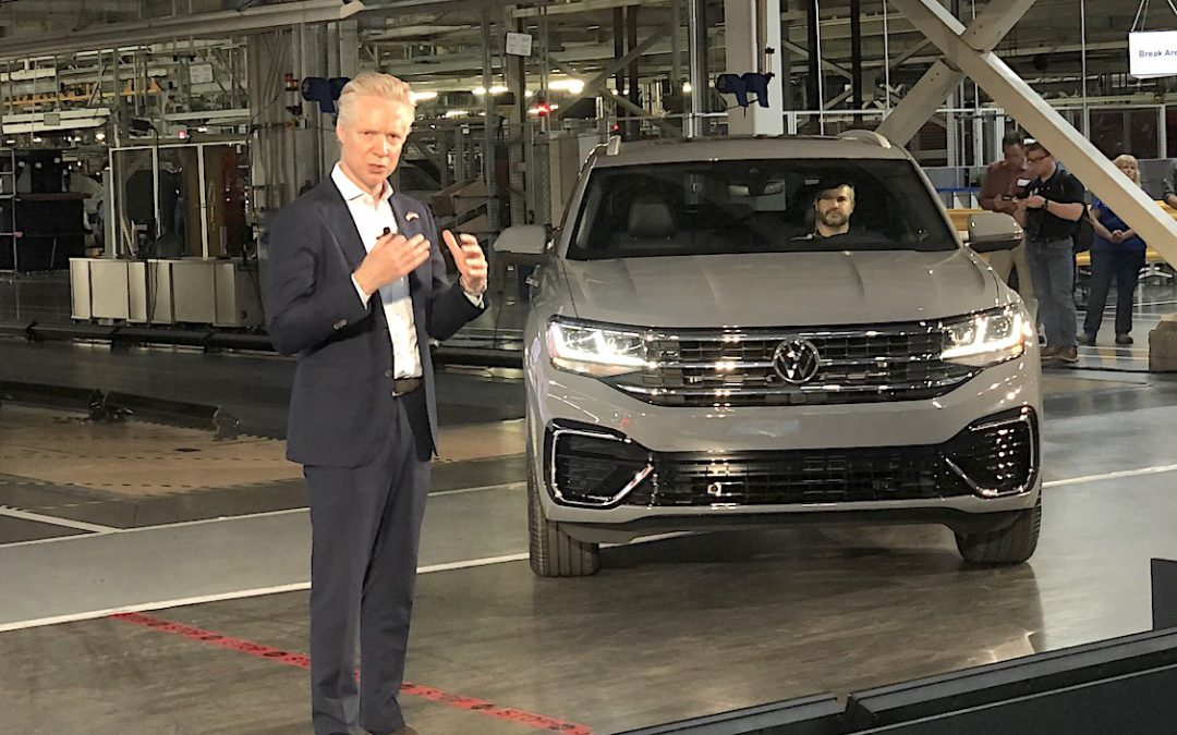 VW's U.S. CEO Has Seen the Future and it's All About SUVs and BEVs