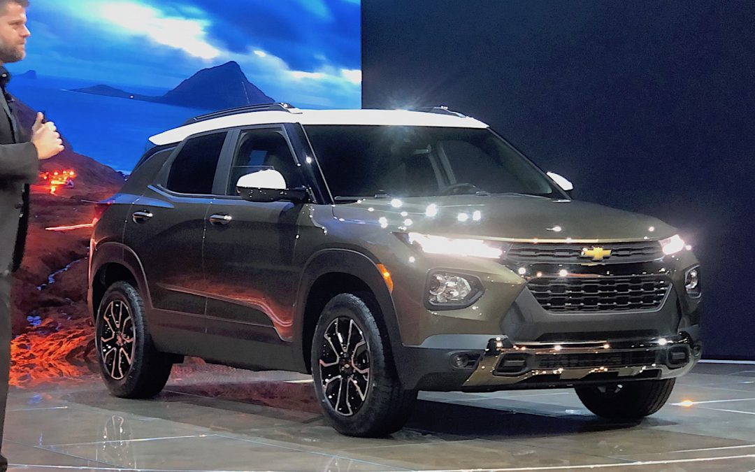 Chevy Blazes into LA with New Trailblazer SUV