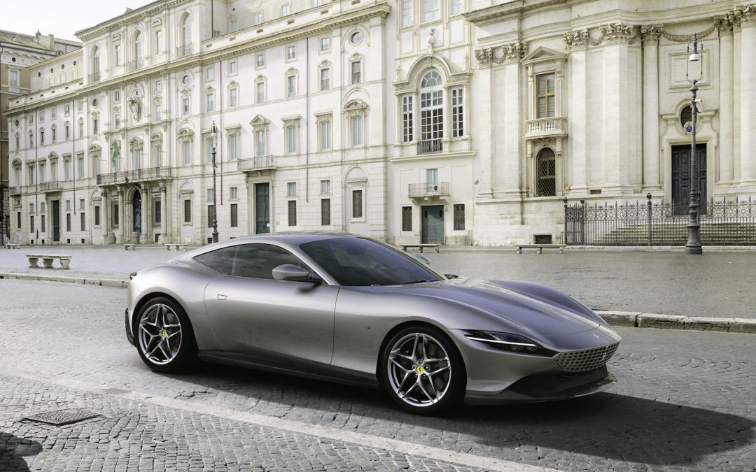 Ferrari Unveils Newest Supercar: The Roma