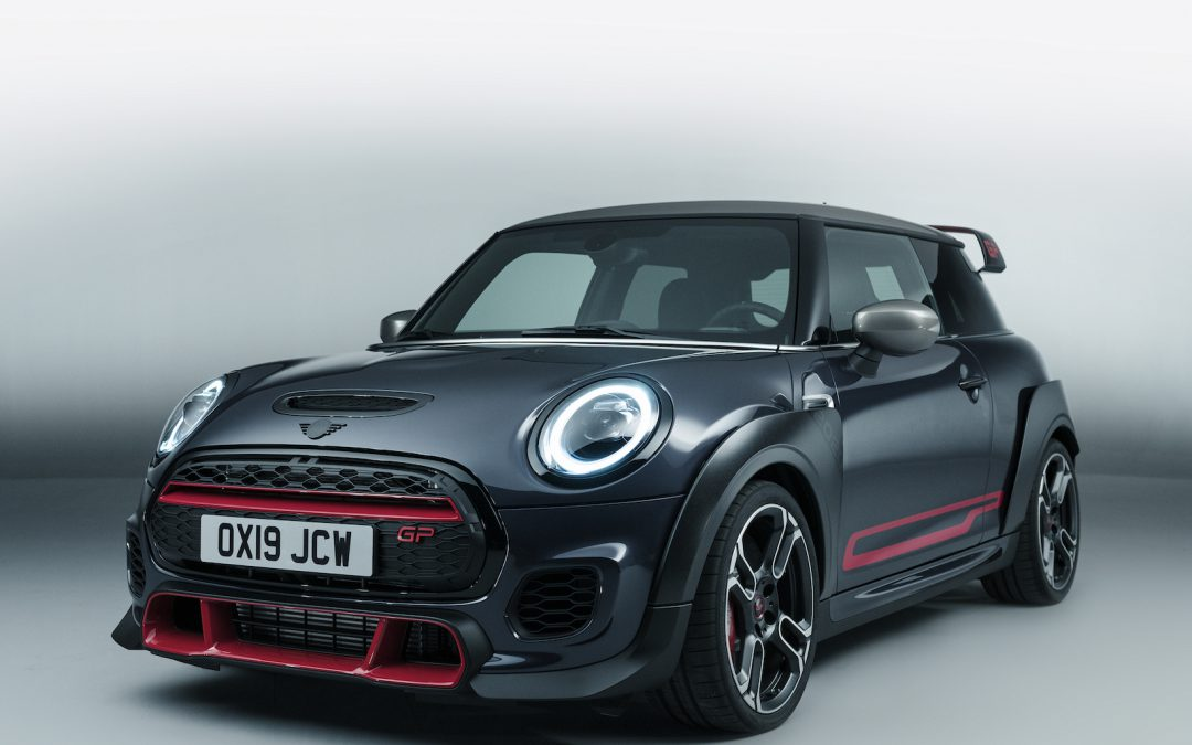 Mini's 3rd-Gen John Cooper Works GP Blasts Off