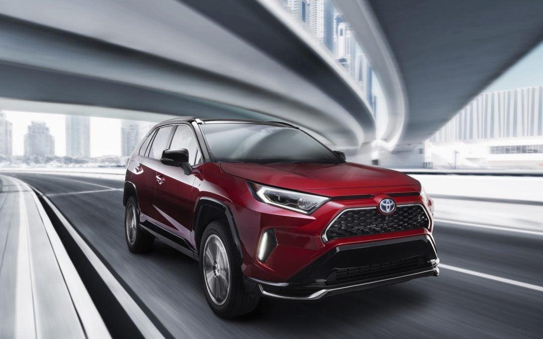 Toyota Primes the Market For New RAV4 Plug-In Hybrid