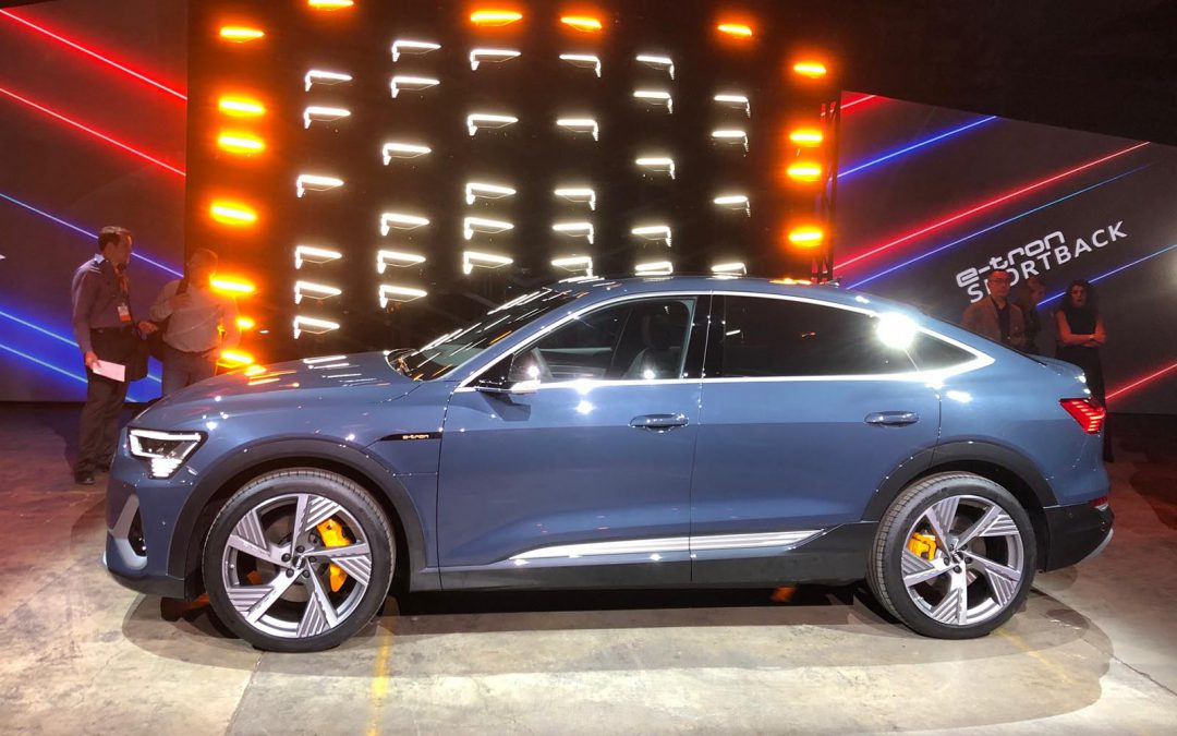 Audi Charges Ahead with New e-tron Sportback