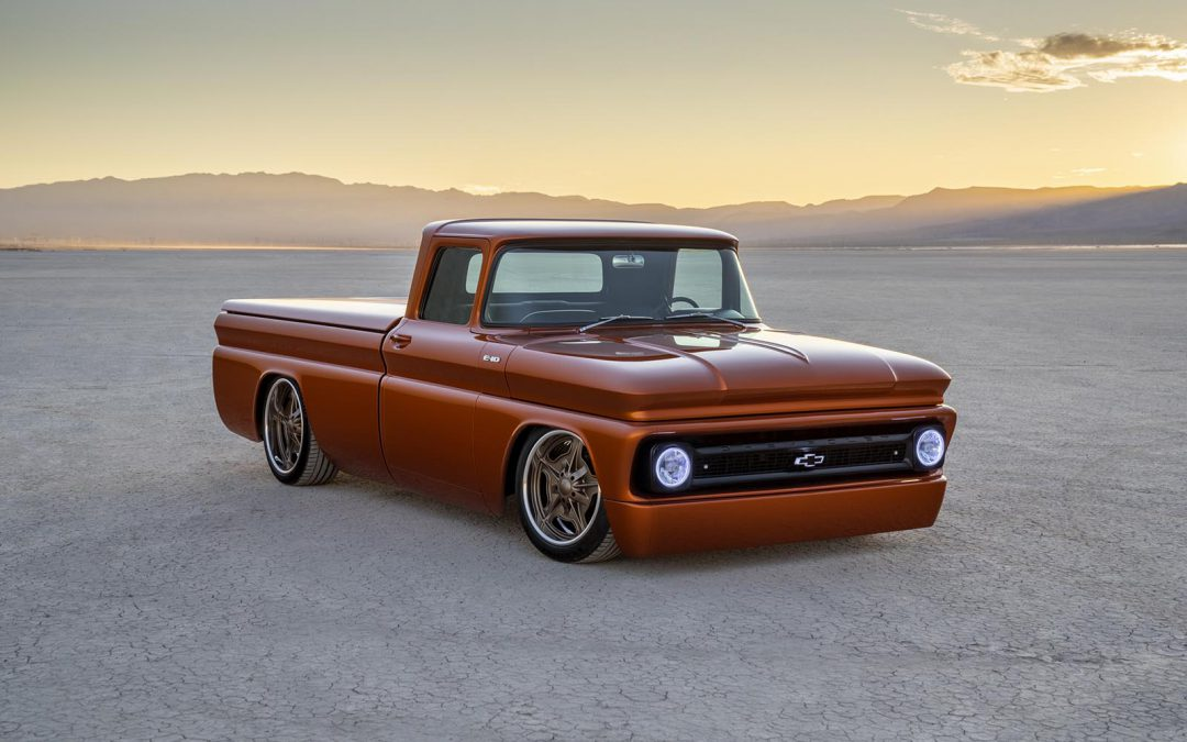Chevy's E-10 SEMA Electric Hot Rod Concept Looks Forward into the Past