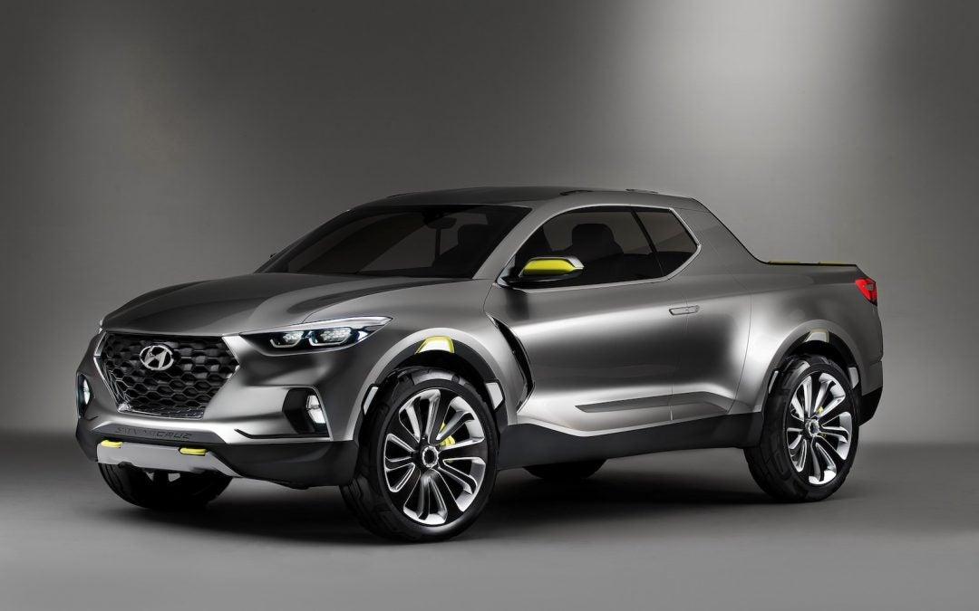 Hyundai Confirms Santa Cruz; Will Build 1st Pickup in Alabama