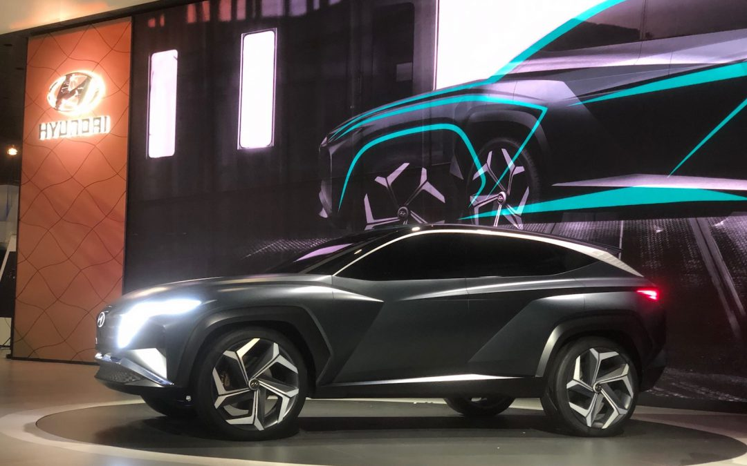 Hyundai Vision T Offers a Glimpse of the Future