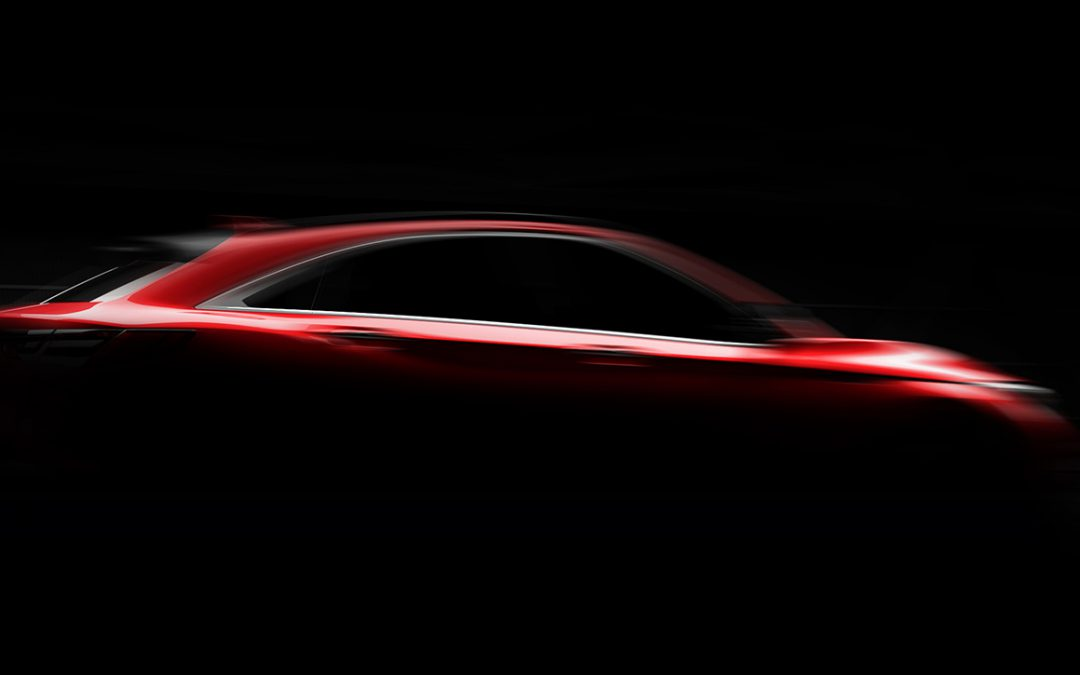 Infiniti Teases Coupe-Like QX55 Crossover