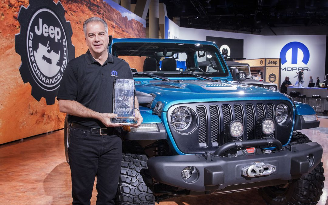 FCA Makes Splash at SEMA as Jeep Takes 4×4 Award