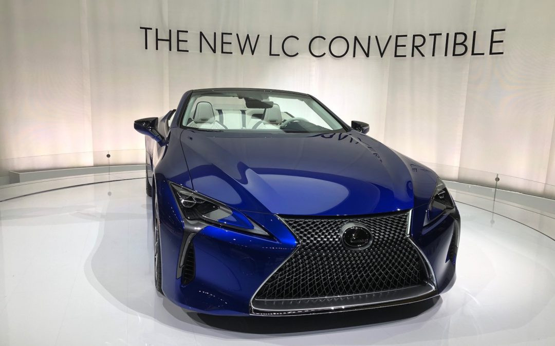 Lexus Pulls the Wraps – and the Top – Off 2021 LC 500 Convertible