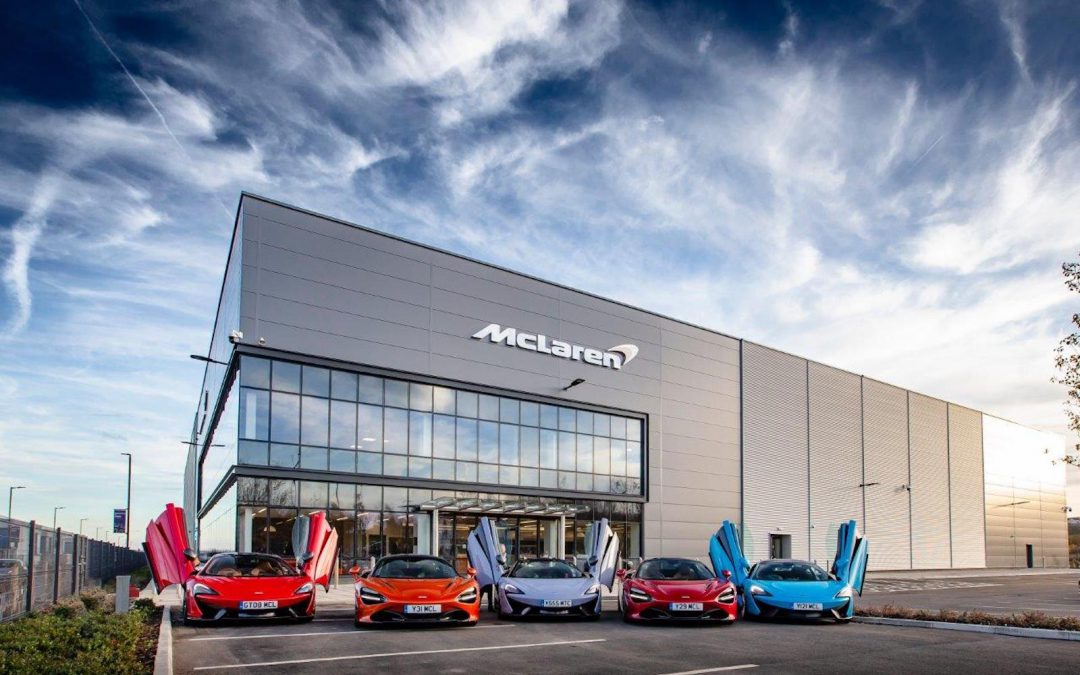 British Super Car Maker McLaren Cuts 1,200 Jobs