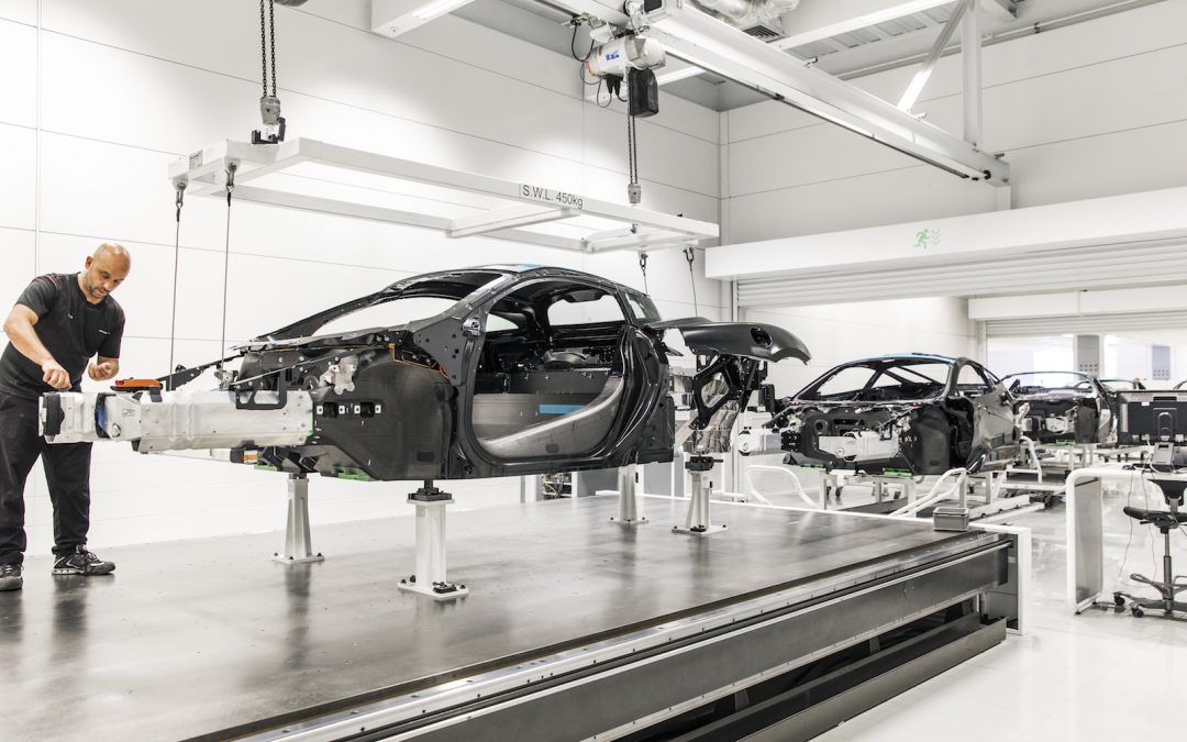 McLaren Opens New Composites Center in Northern England