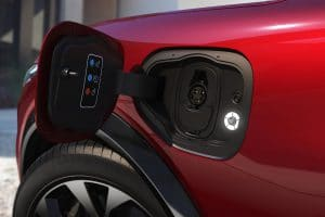 Mustang Mach-E - charge port