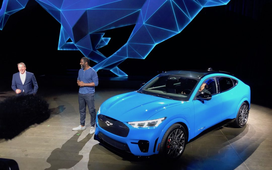 Mustang Mach-E Takes Aim at Tesla Model Y