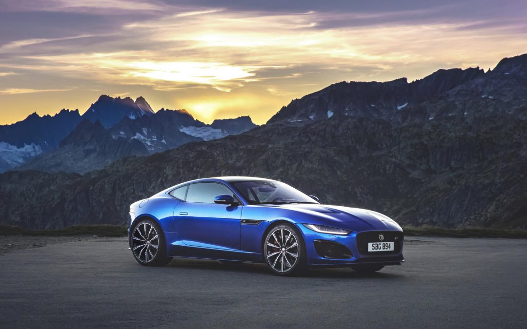 Jaguar Unleashes 2021 F-Type Makeover