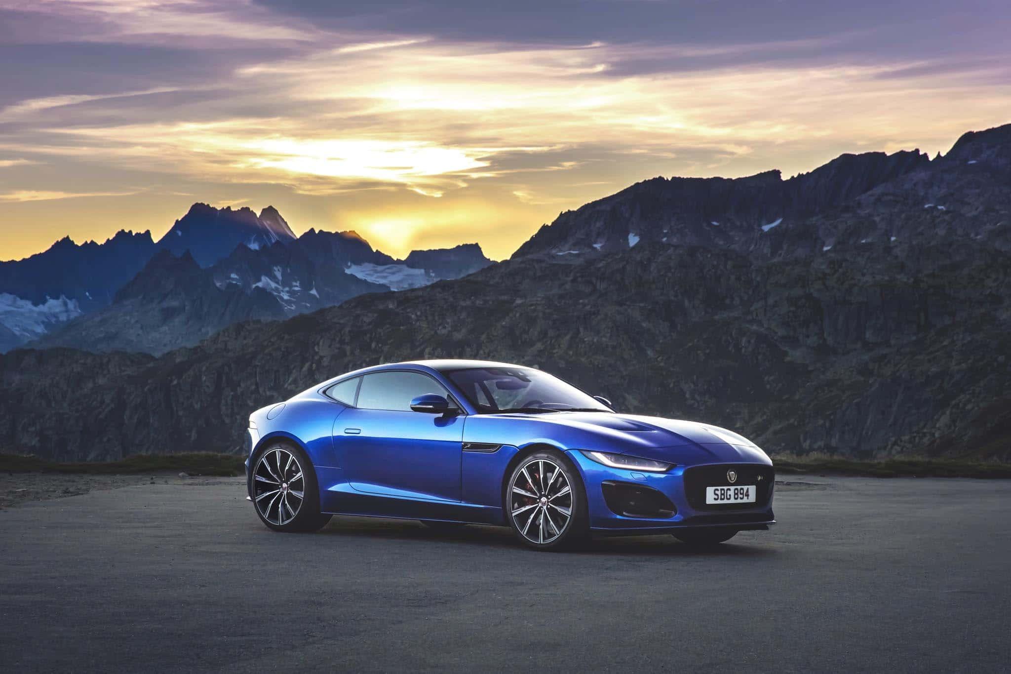 Jaguar Unleashes 2021 F-Type Makeover   TheDetroitBureau.com