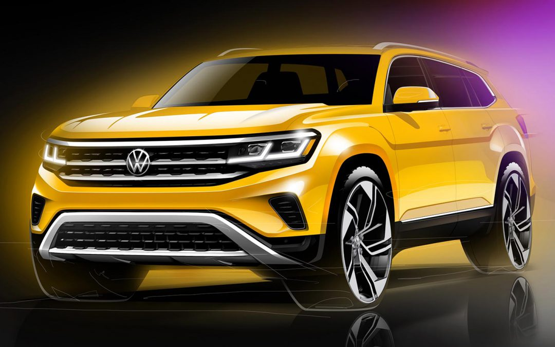 VW Offers First Look at Updated 2021 Atlas – and Confirms New Entry CUV