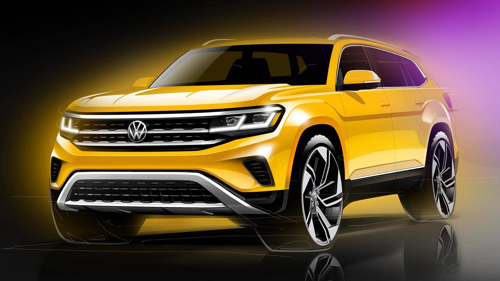 VW Offers First Look at Updated 2021 Atlas - and Confirms ...