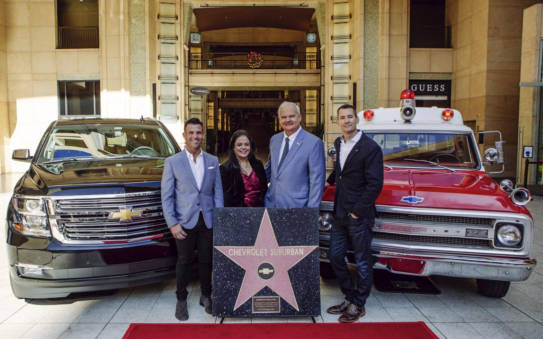 Chevy Suburban Gets a Star on the Hollywood Walk of Fame