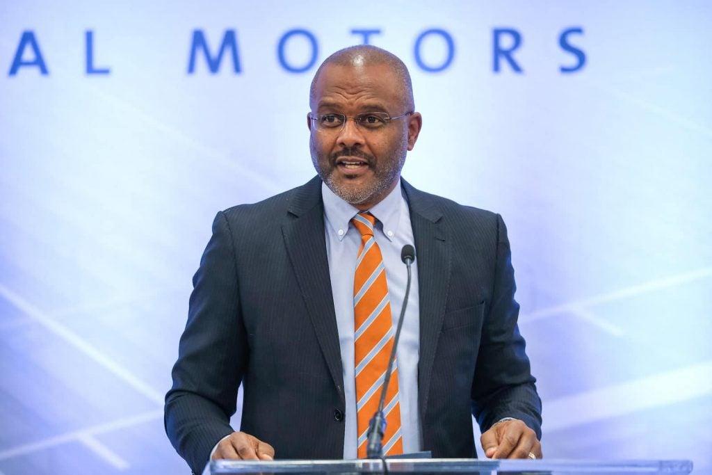 General Motors Executive Vice President Global Manufacturing Gerald Johnson