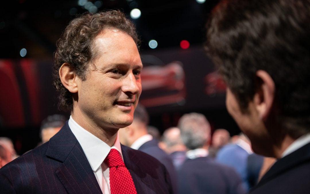 Ferrari's First EV Due in 2025, CEO Elkann Says