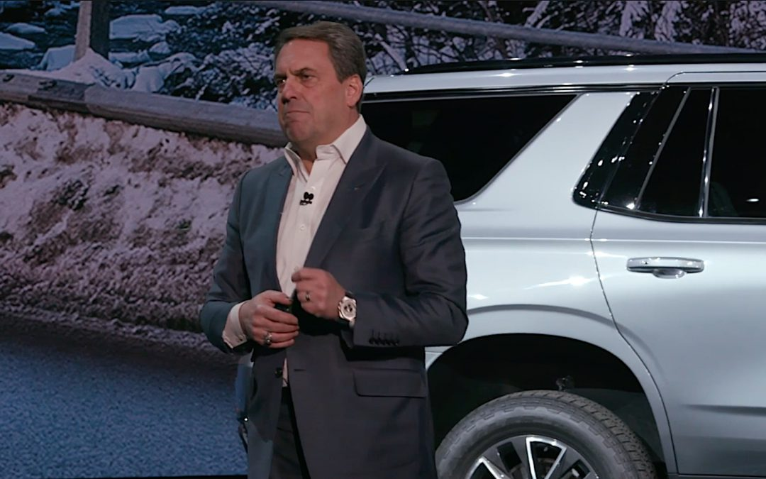 Chevrolet Unveils 2021 Suburban and Tahoe