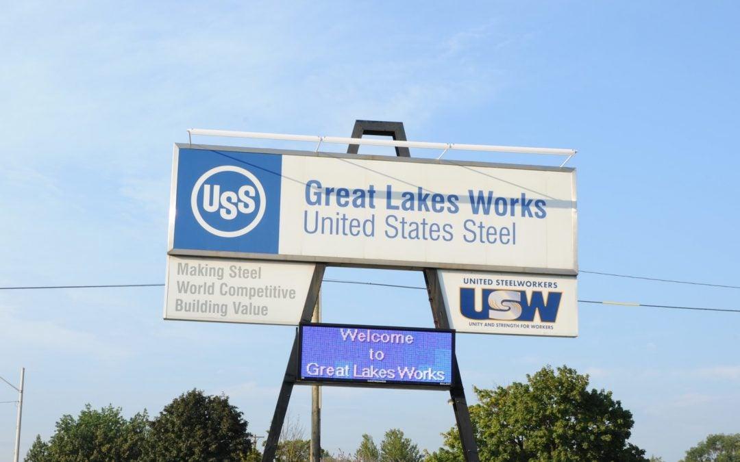 US Steel Pulls Plug on Detroit Plant Geared to Auto Industry