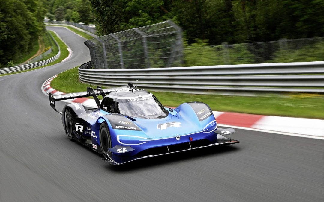 """Electric Race Car of the Year,"" VW ID.R Anchor's Automaker's All-Electric Racing Plans"