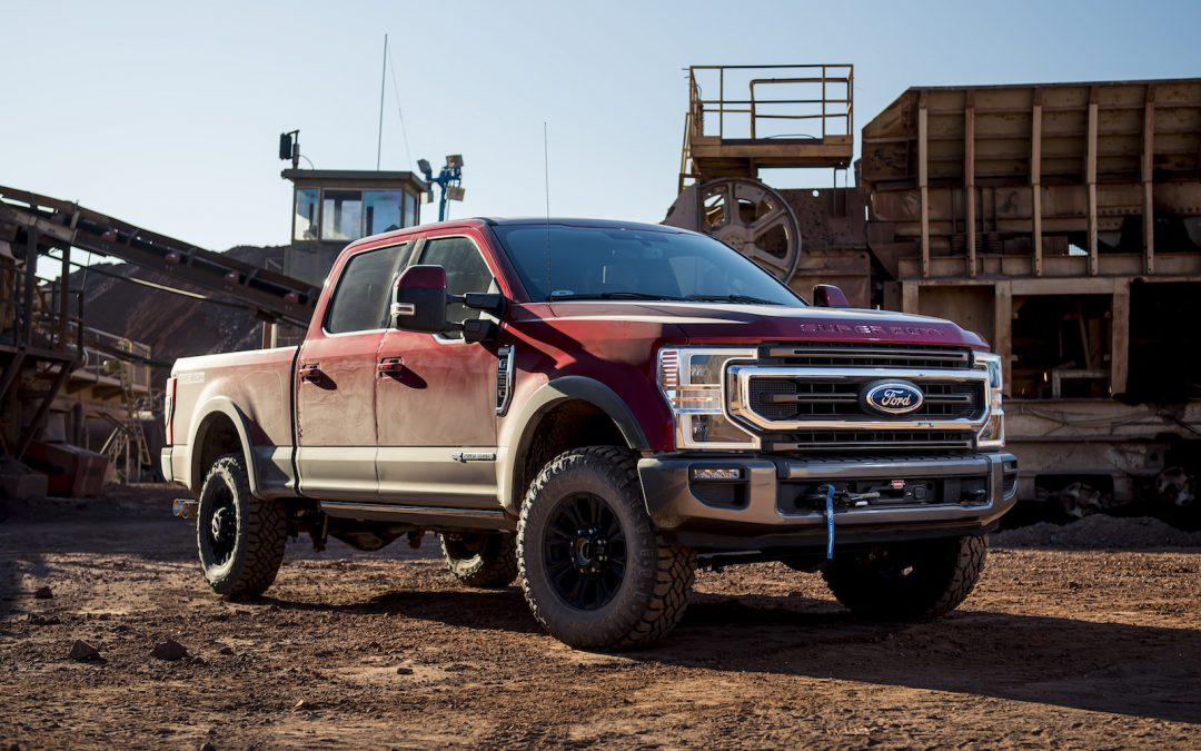 Ford Gives Super Duty More Accessories to Separate from Pack