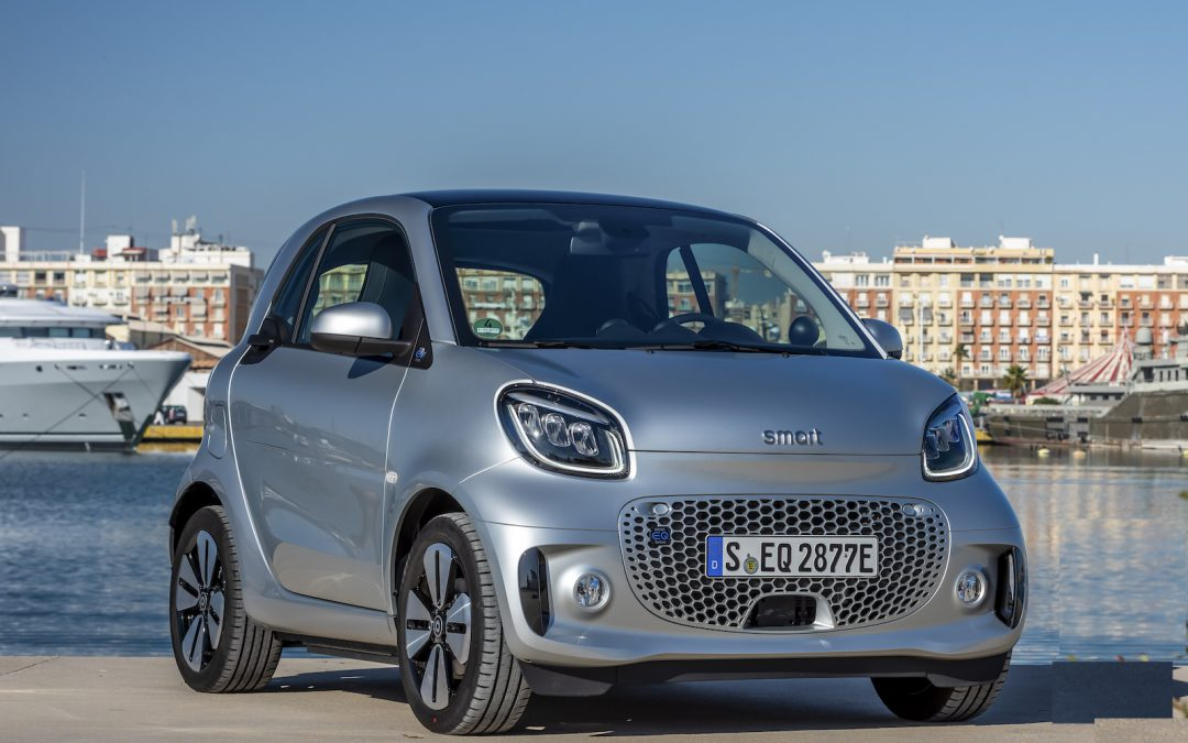 New, All-Electric Smart Ready to Roll