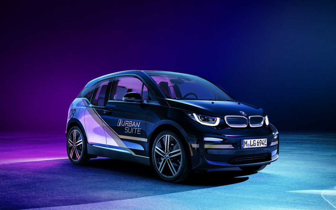 BMW i3 Concept Gives Passengers a Suite New Ride