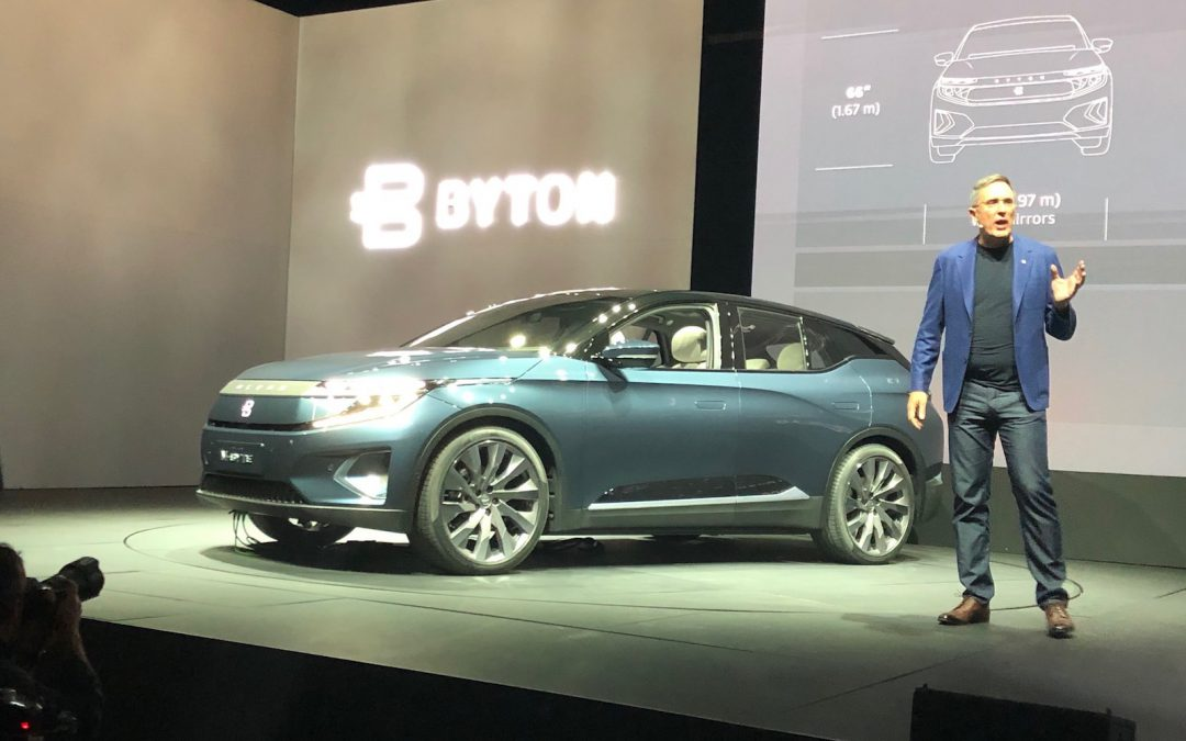 Byton Reveals Global Production, Sales Plans for M-Byte Electric SUV