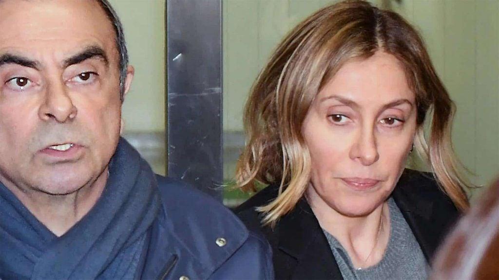 Carlos and Carol Ghosn