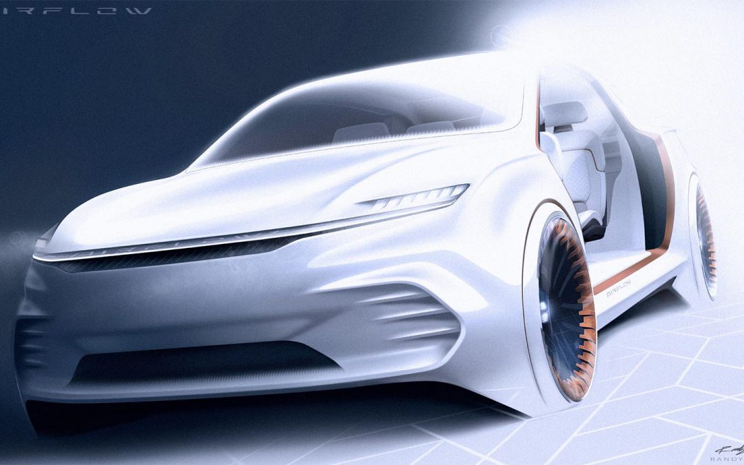 Chrysler Bringing Airflow Vision Concept to CES