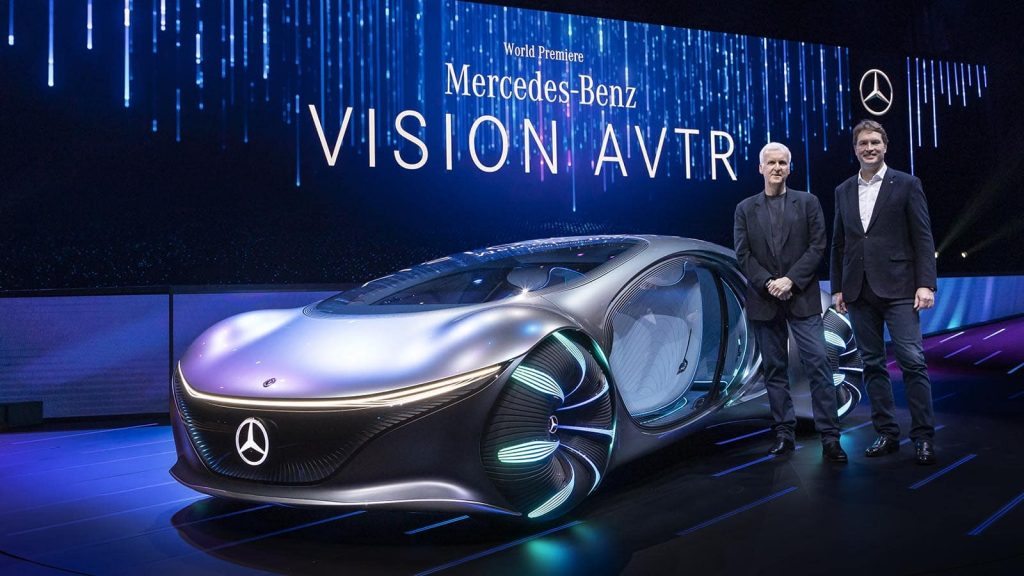 "Consumer Electronics Show (CES) 2020  Keynote: ""Sustainable Modern Luxury – Next Chapter""   Weltpremiere Mercedes-Benz VISION AVTRConsumer Electronics Show (CES) 2020  Keynote: ""Sustainable Modern Luxury – Next Chapter""   World Premiere Merc"